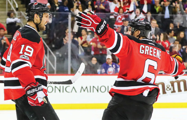 low priced b6875 072ce Travis Zajac and Andy Greene have remained two constants for ...