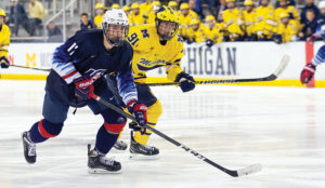 U.S. NTDP forward John Beecher