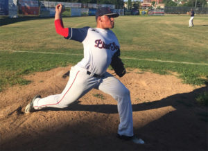 Endy Morales, Valley Blue Sox
