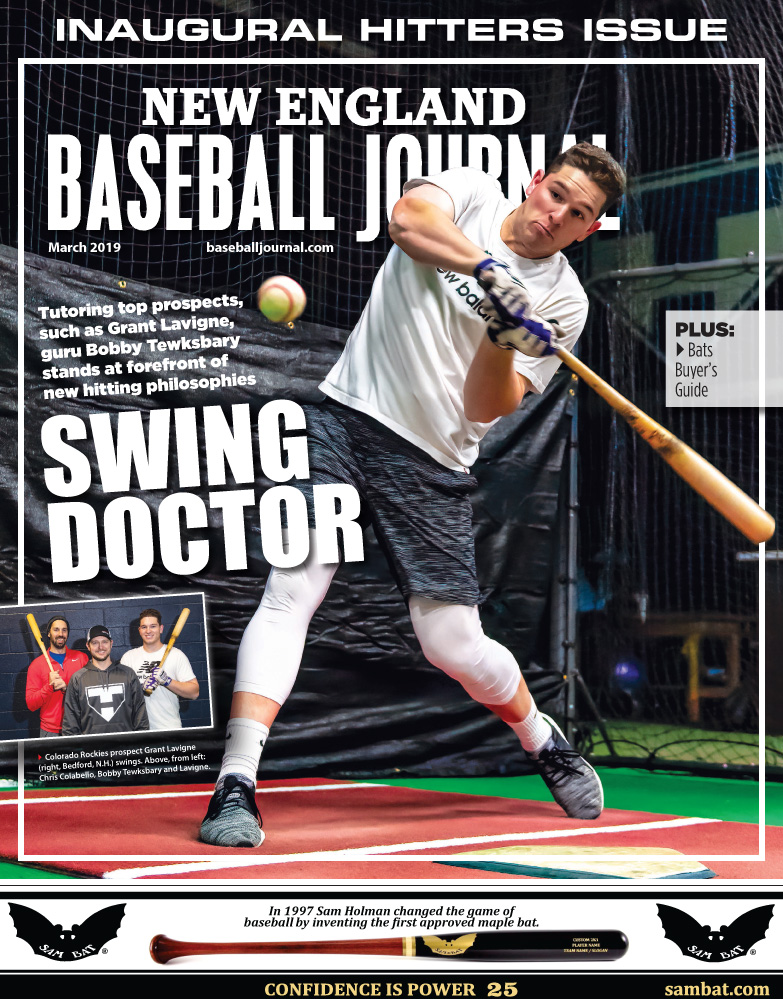 March 2019 Cover of the New England Baseball Journal