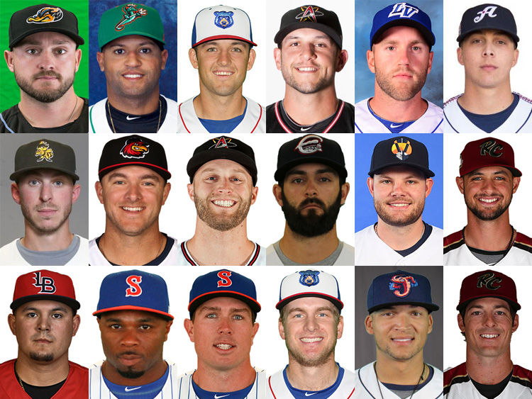 New England's Triple A Roster
