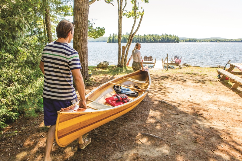 Paddle perfection: New England is your water playground